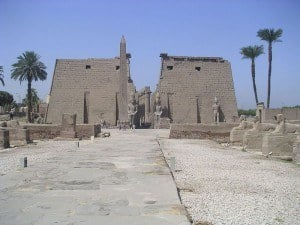 The Temple of Luxor, Egypt
