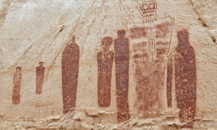 Holy Ghosts in Horseshoe Canyon, Utah