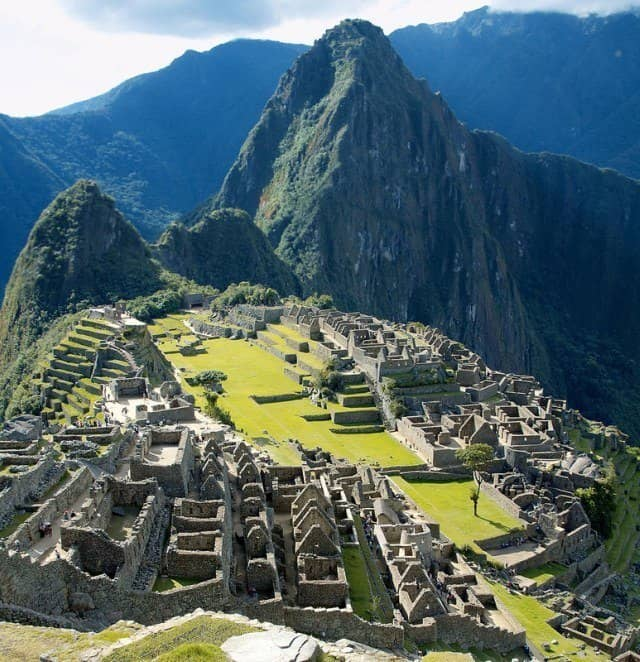 The Peruvian site of Machu Picchu