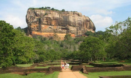 Caught between a Rock and a Very High Place: Sri Lanka's Sigiriya