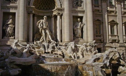 The Archaeology Behind the Trevi Fountain